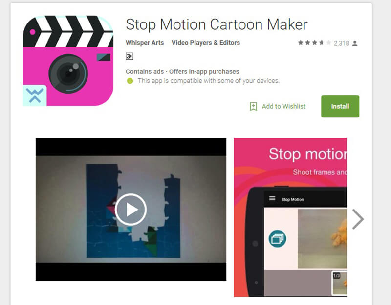 Stop Motion Cartoon Maker