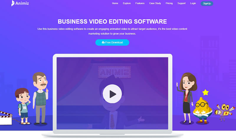 10 Of The Best Cartoon Animation Software To Edit Videos Animiz Learning Center