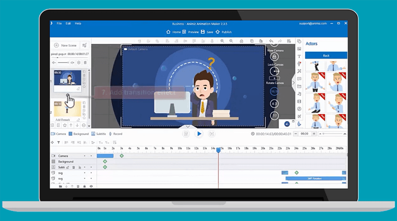 An Animated Video Maker for Windows