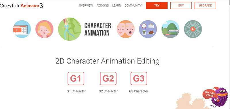 Top 6 Character Animation Software For Animation Designers   Animiz ...