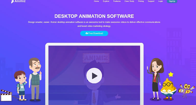 cartoon video maker software free download full version
