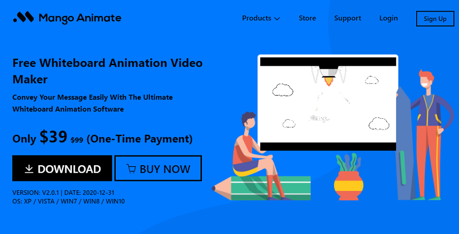 Mango Animate Whiteboard Animation Maker